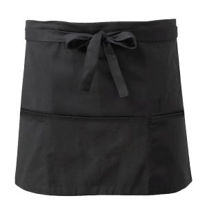 Short Apron With Open Pockets - CCAP3