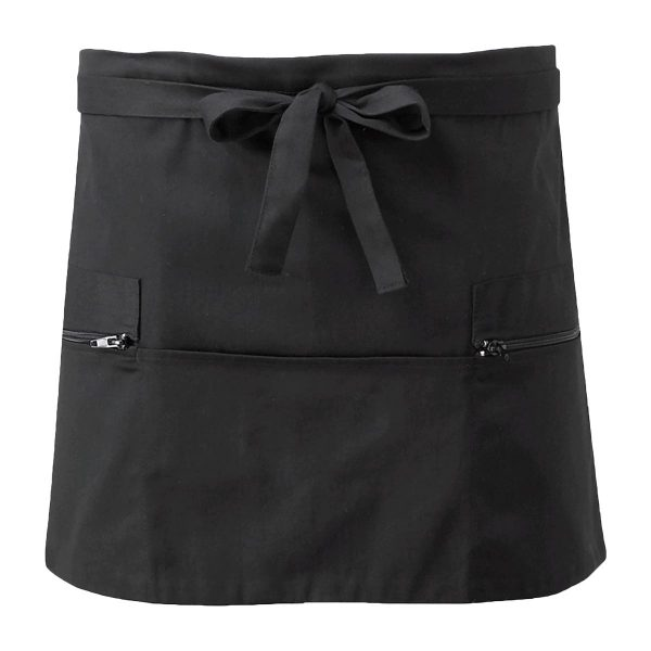 Short Apron Two Zip Pockets - CCAP6
