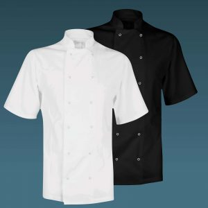 Value Chefs Jacket Unisex Short Sleeve - CCJ1
