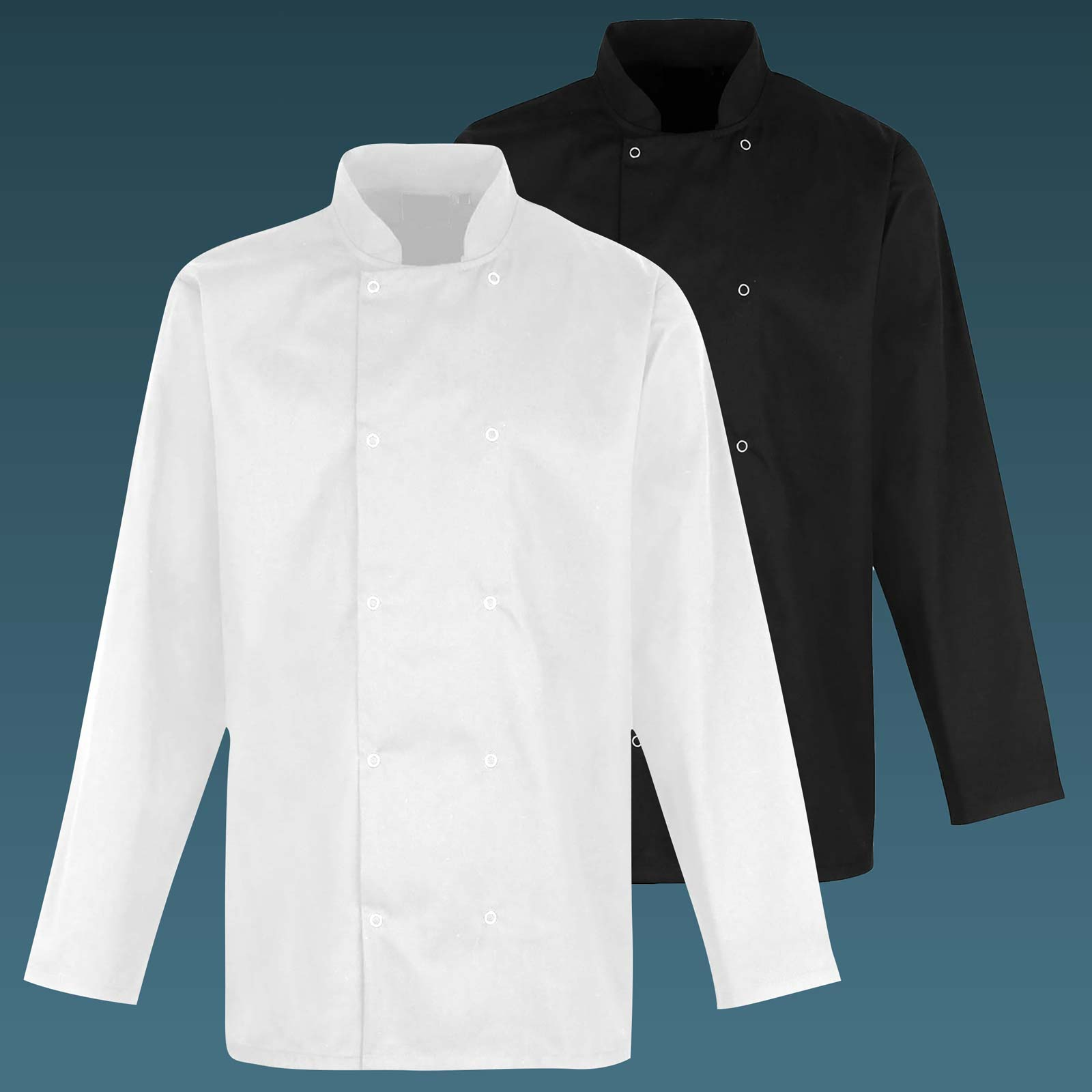 Value Chefs Jacket Unisex Long Sleeve - CCJ2