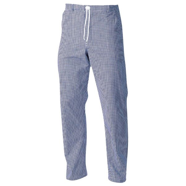 Chefs Trousers - CCTR1-BLUE-CHECK