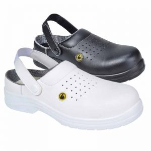 Compositelite Esd Perforated Safety Clog - FC03