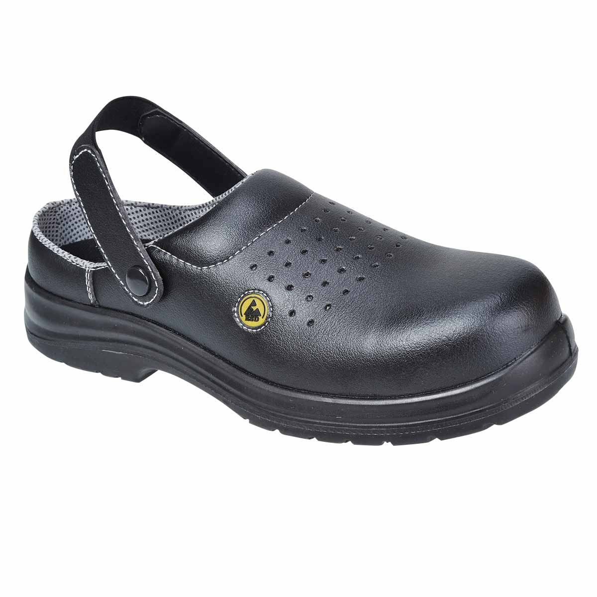 Compositelite Esd Perforated Safety Clog - FC03BKR