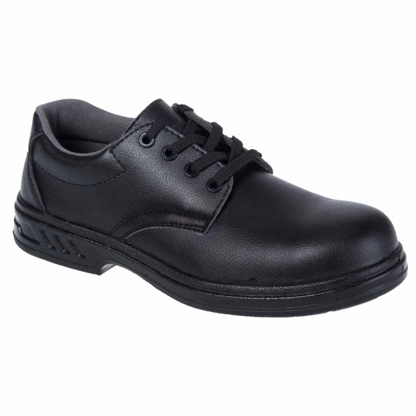 Laced Safety Shoe S2 - FW80BKR