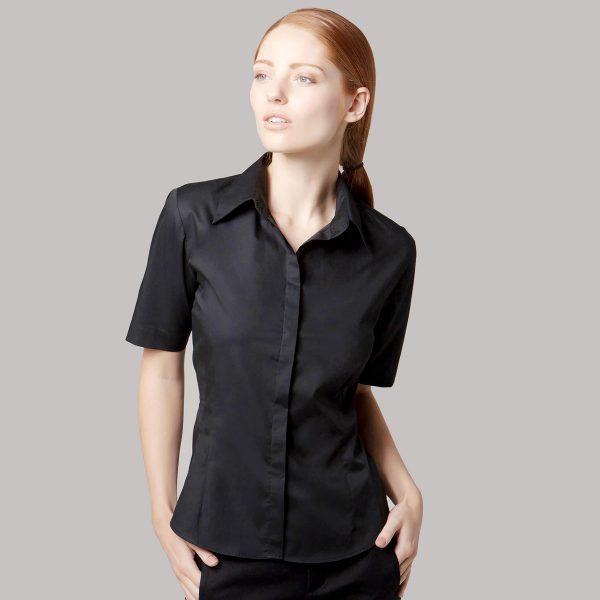 Ladies Bar Shirt Short Sleeve - KK735