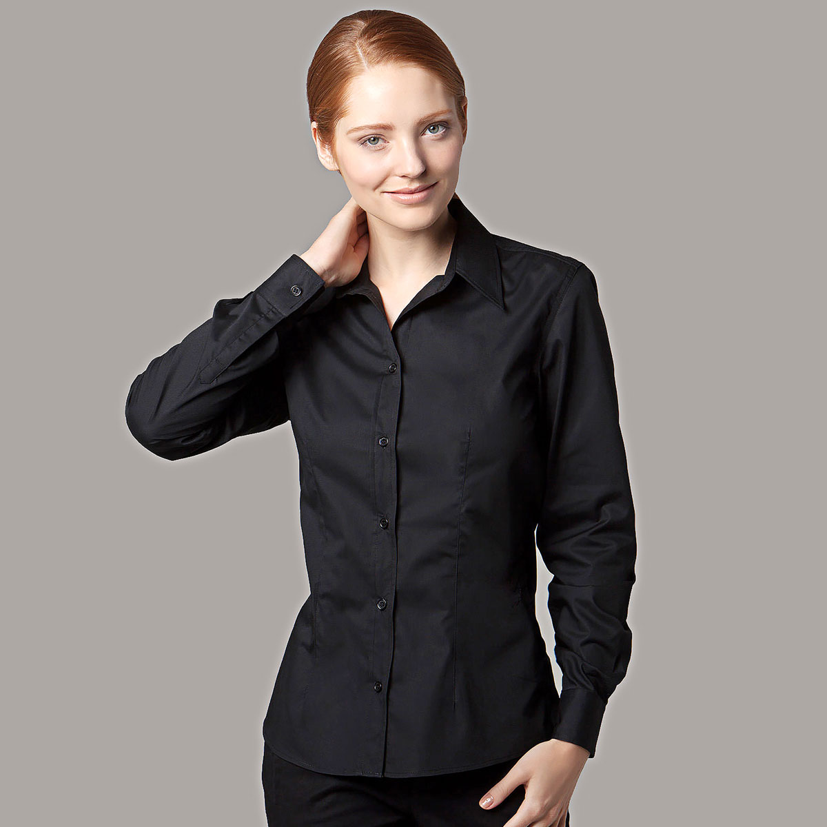 Ladies Bar Shirt Long Sleeve - KK738