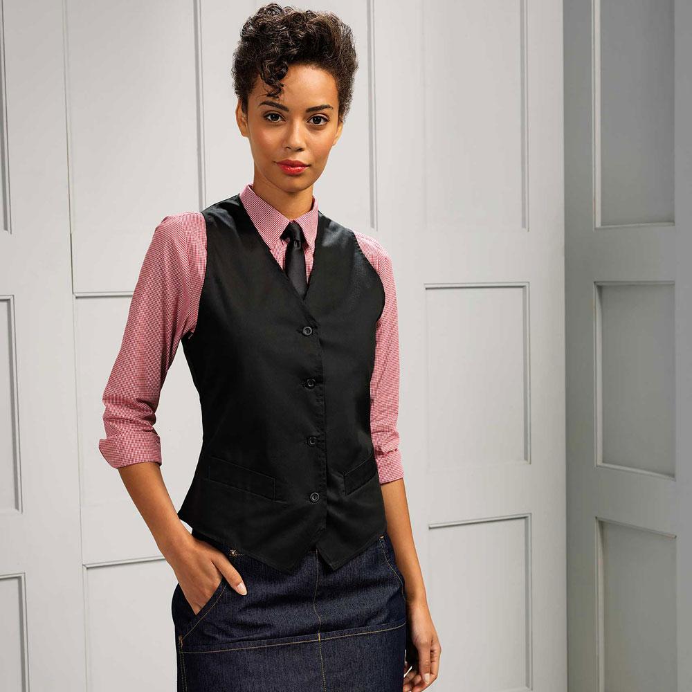 Ladies Hospitality Waistcoat - PR621