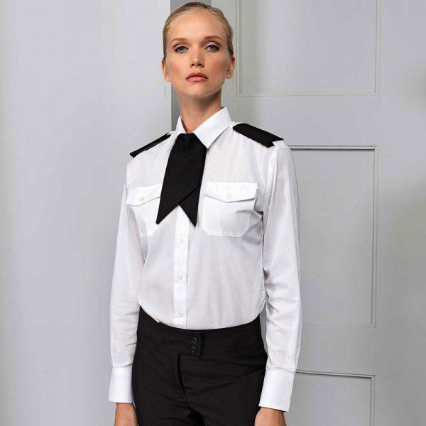 Ladies Clip On Cravat - PR711