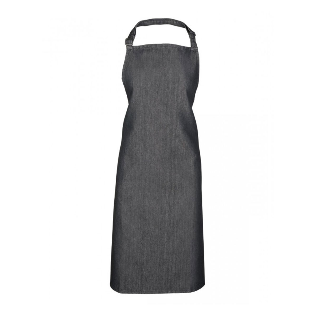 Colours Collection Bib Apron - pr150-blk-denim