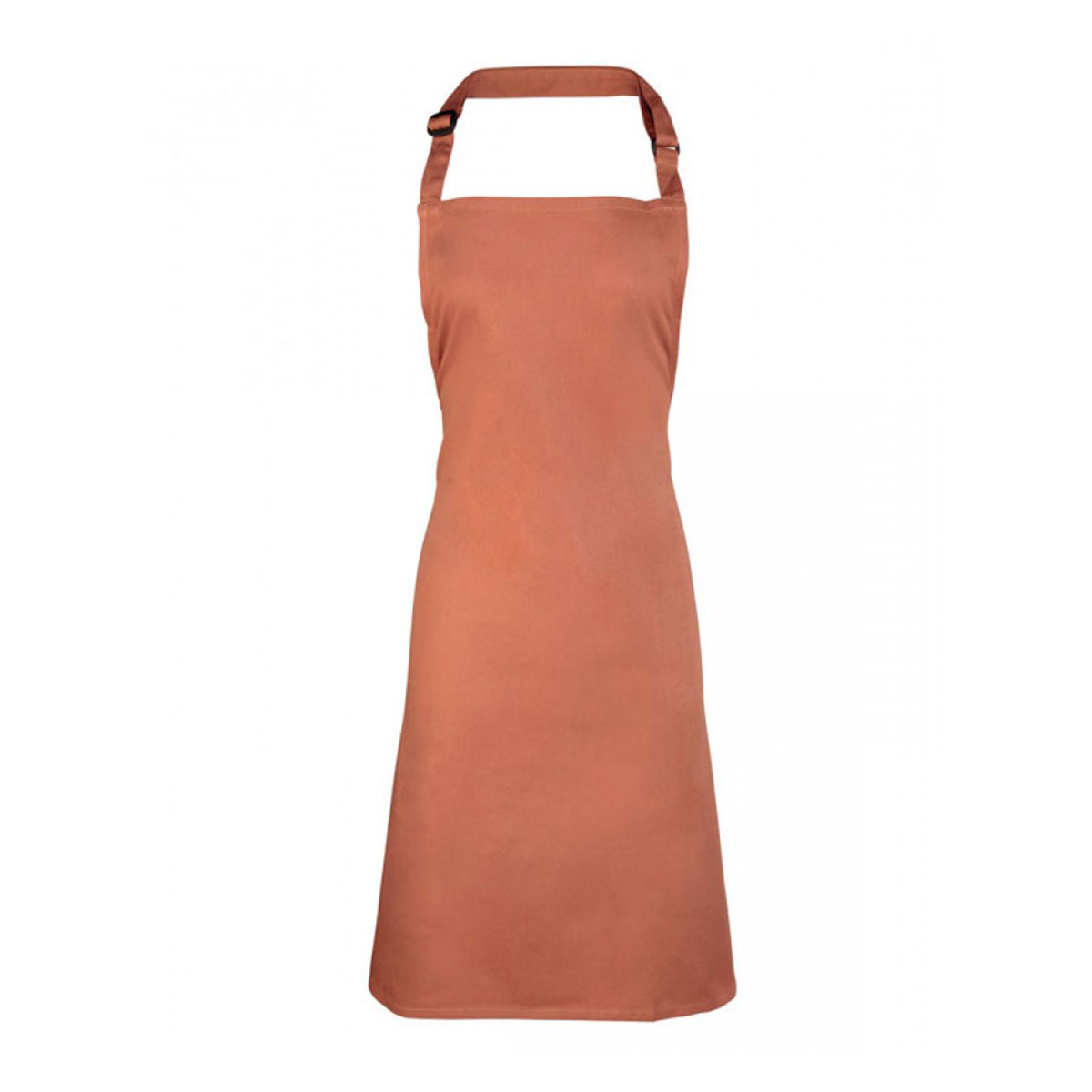 Colours Collection Bib Apron - pr150-chestnut