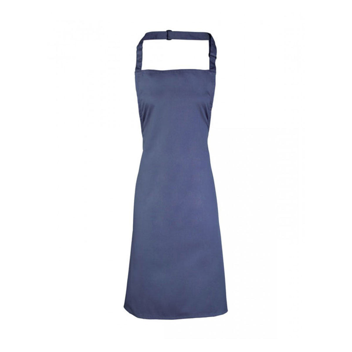 Colours Collection Bib Apron - pr150-marine-blue