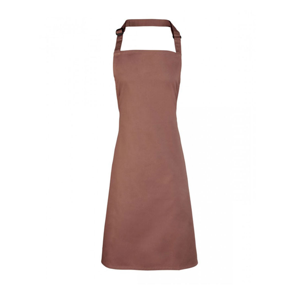Colours Collection Bib Apron - pr150-mocha