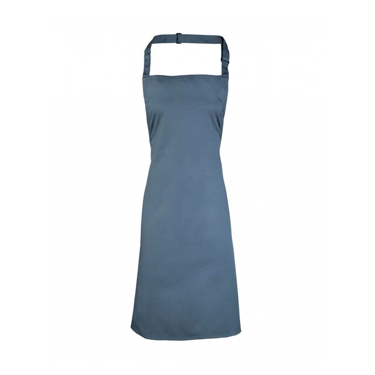 Colours Collection Bib Apron - pr150-postman-grey