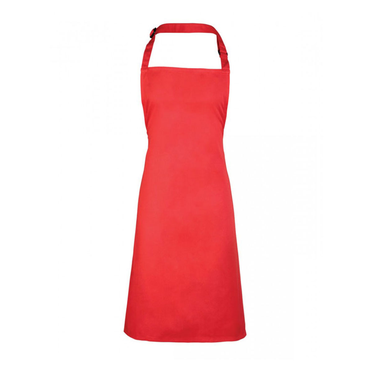 Colours Collection Bib Apron - pr150-strawberry