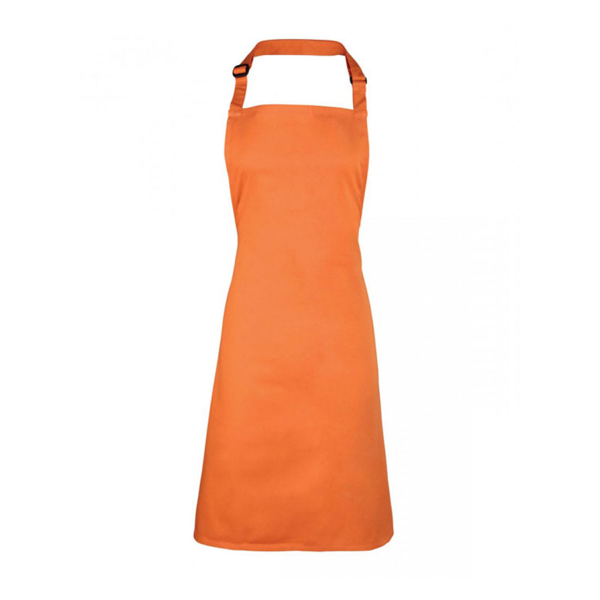 Colours Collection Bib Apron - pr150-terracotta