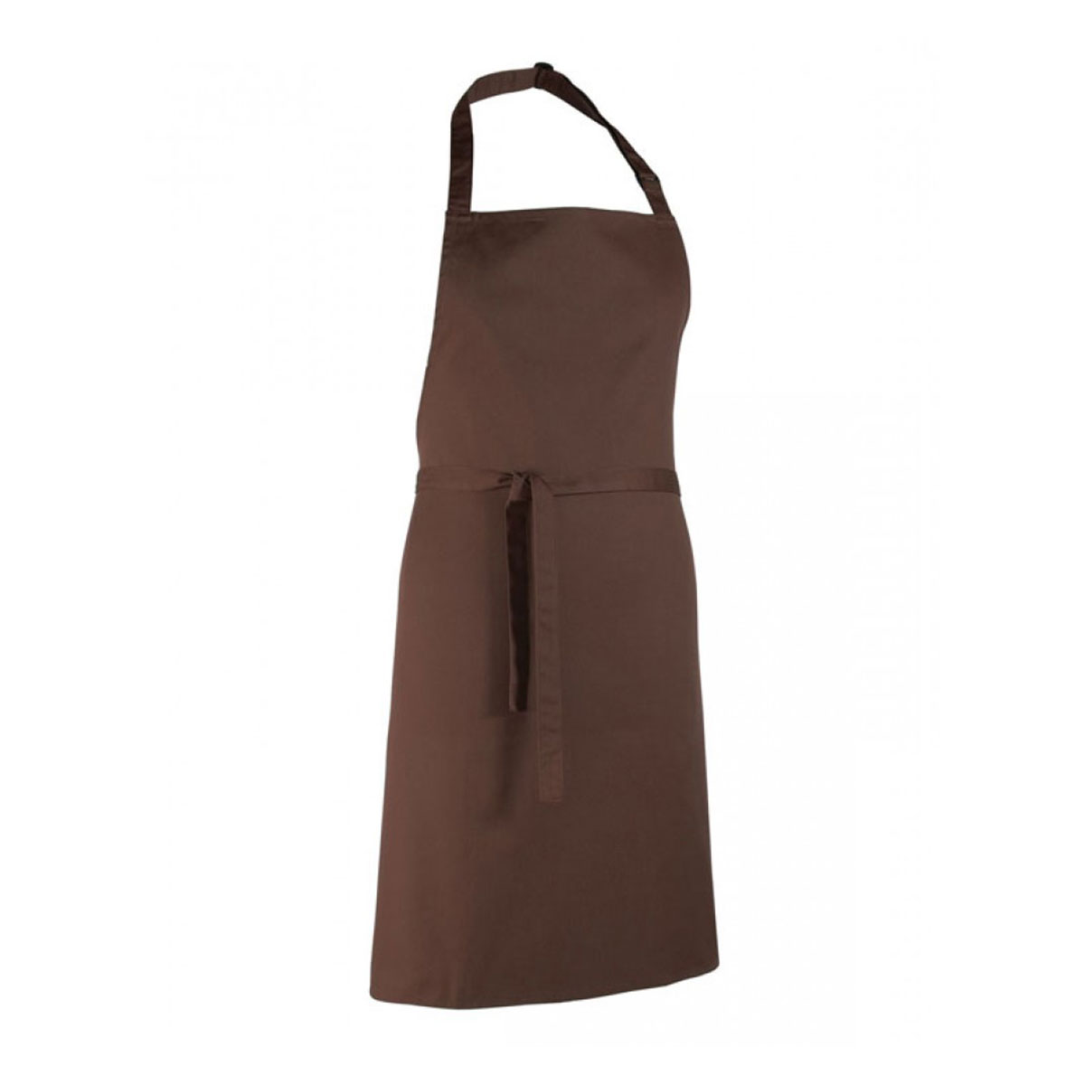 Colours Collection Bib Apron - pr150_brown