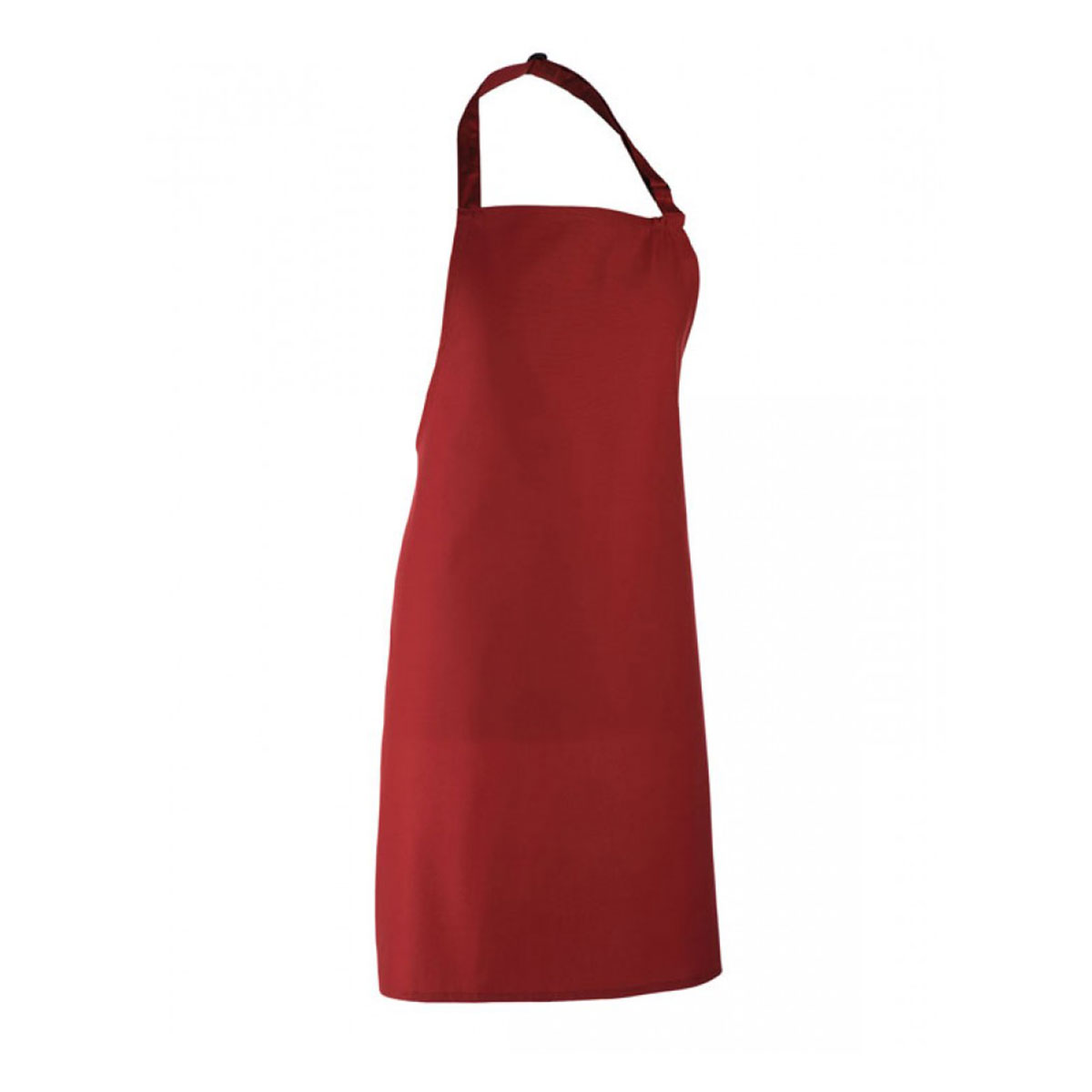 Colours Collection Bib Apron - pr150_burgundy