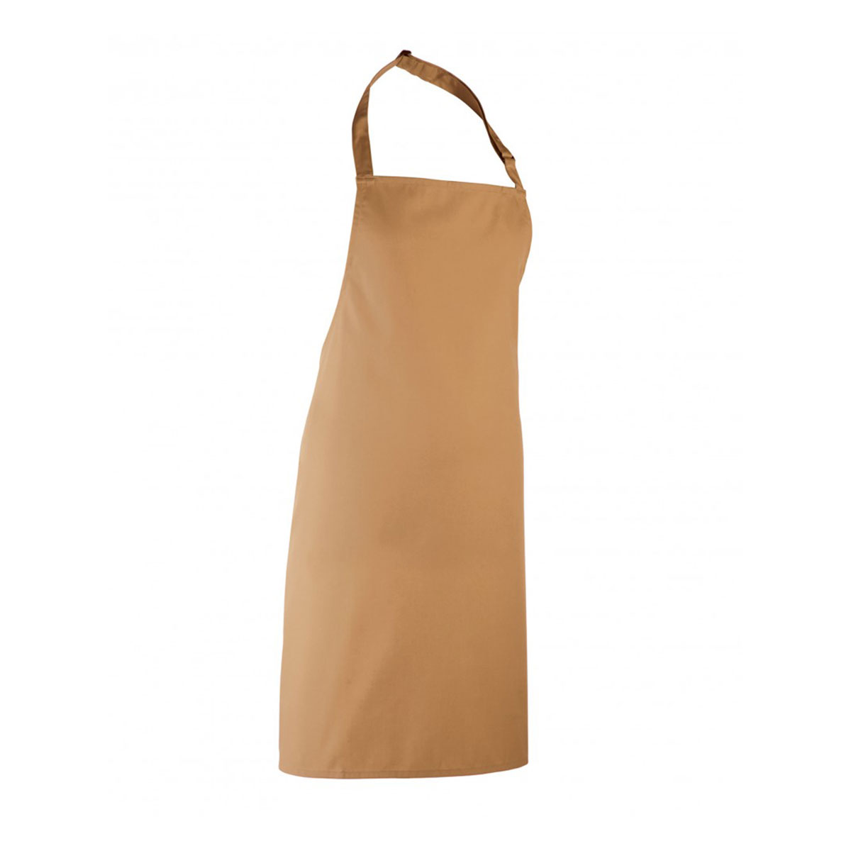 Colours Collection Bib Apron - pr150_camel
