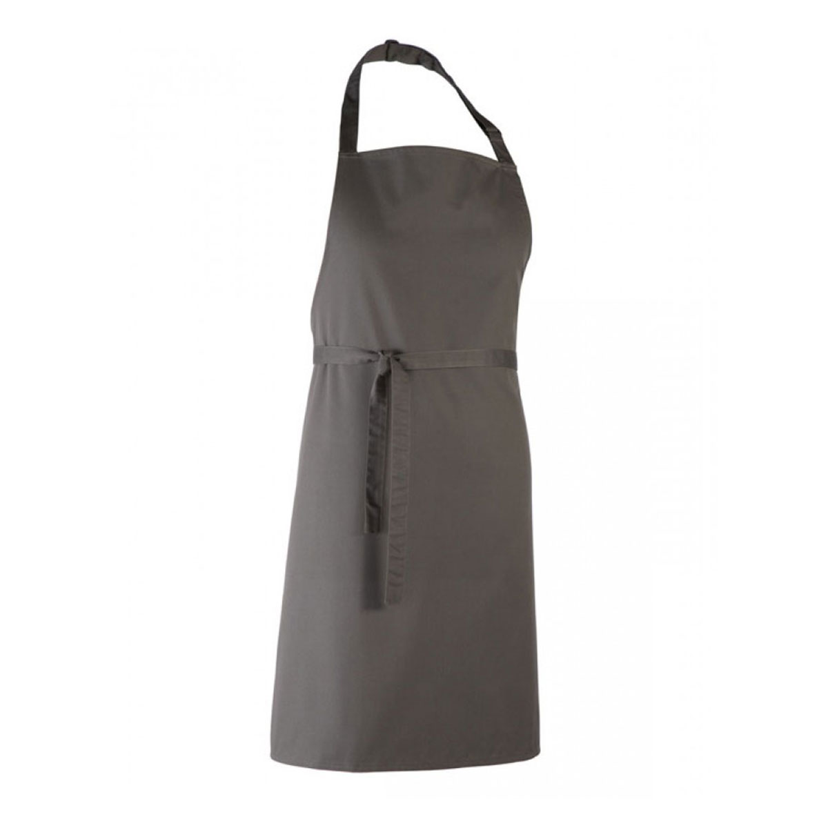 Colours Collection Bib Apron - pr150_darkgrey