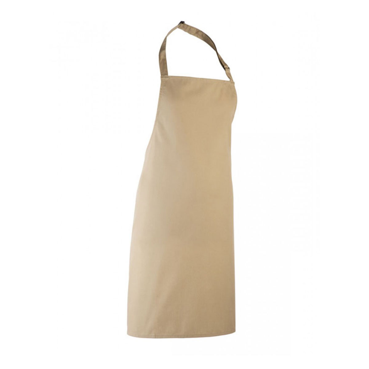 Colours Collection Bib Apron - pr150_khaki