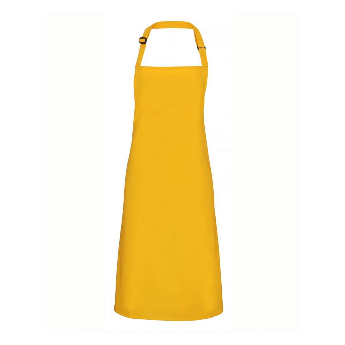 Colours Collection Bib Apron - pr150_mustard