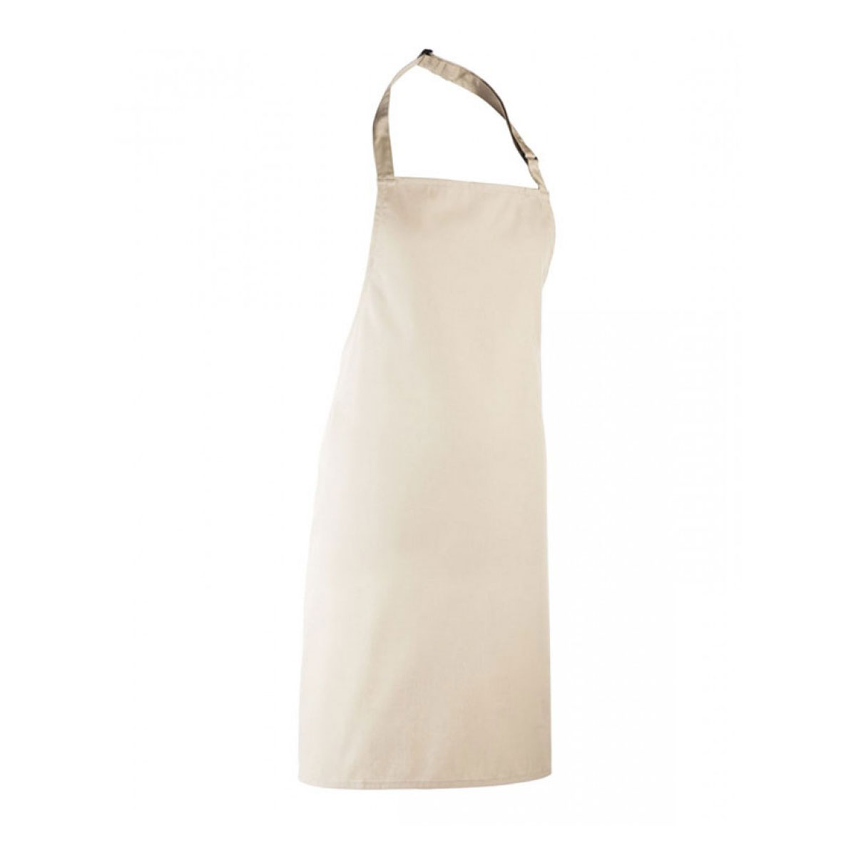 Colours Collection Bib Apron - pr150_natural