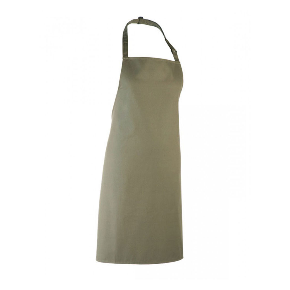 Colours Collection Bib Apron - pr150_olive_1