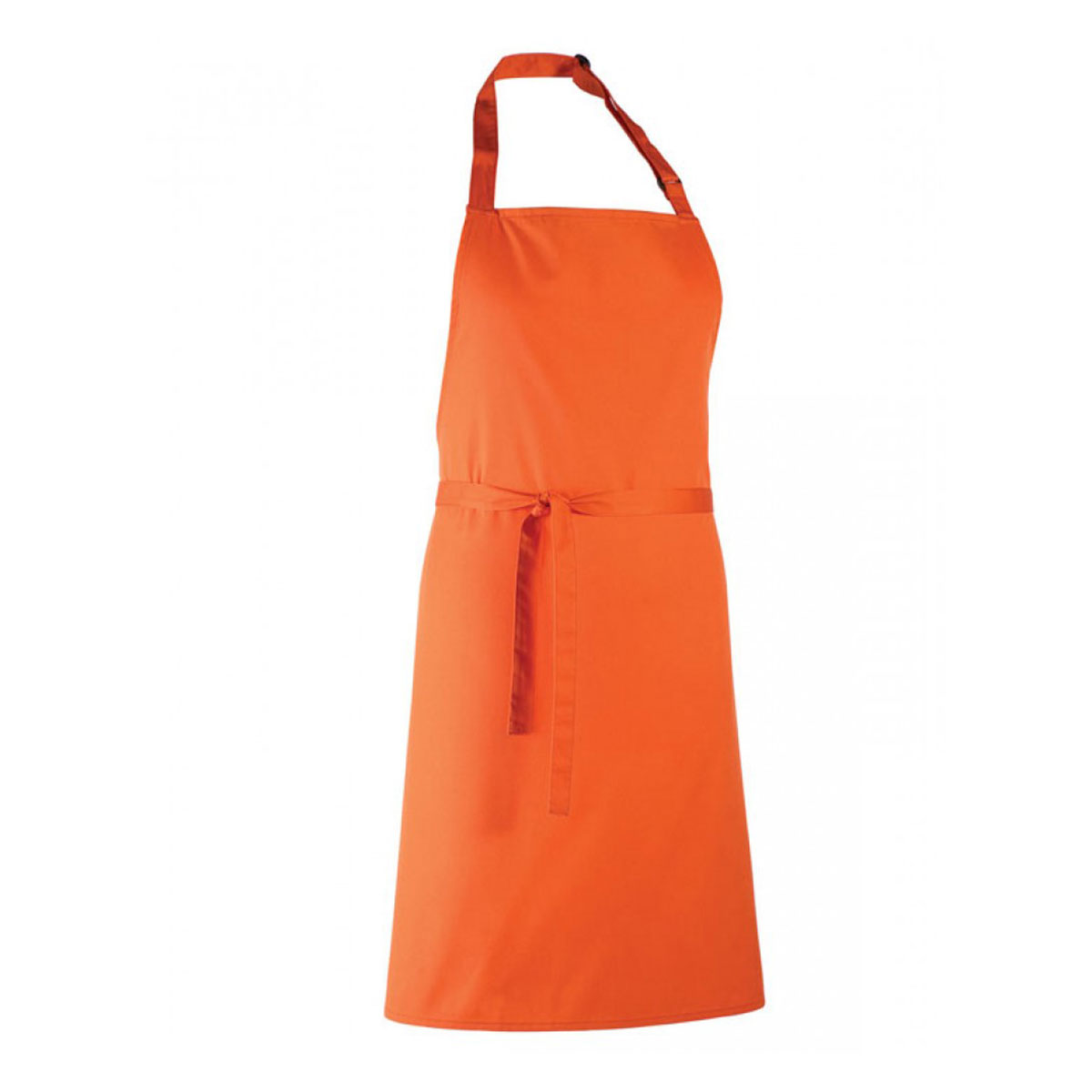 Colours Collection Bib Apron - pr150_orange