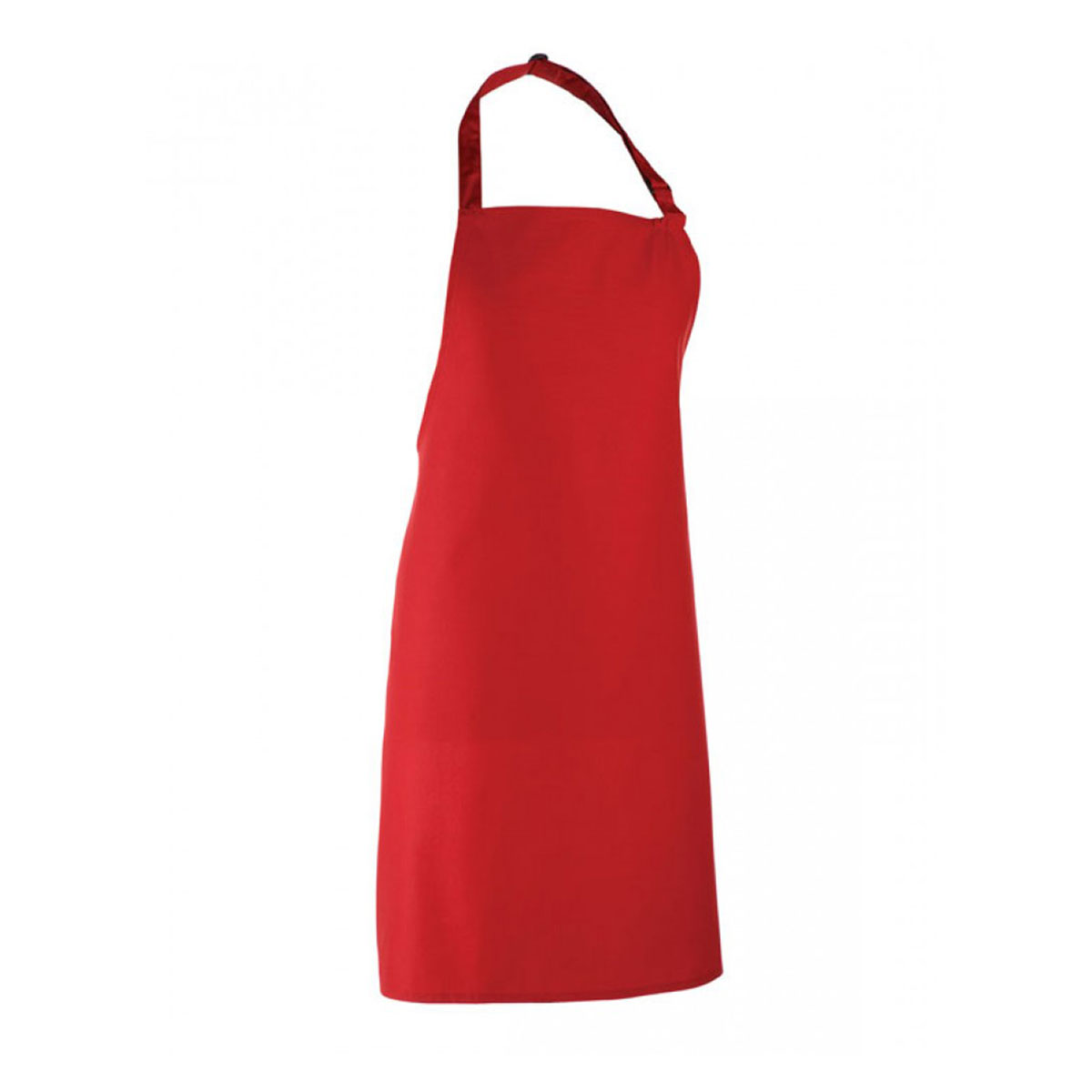 Colours Collection Bib Apron - pr150_red