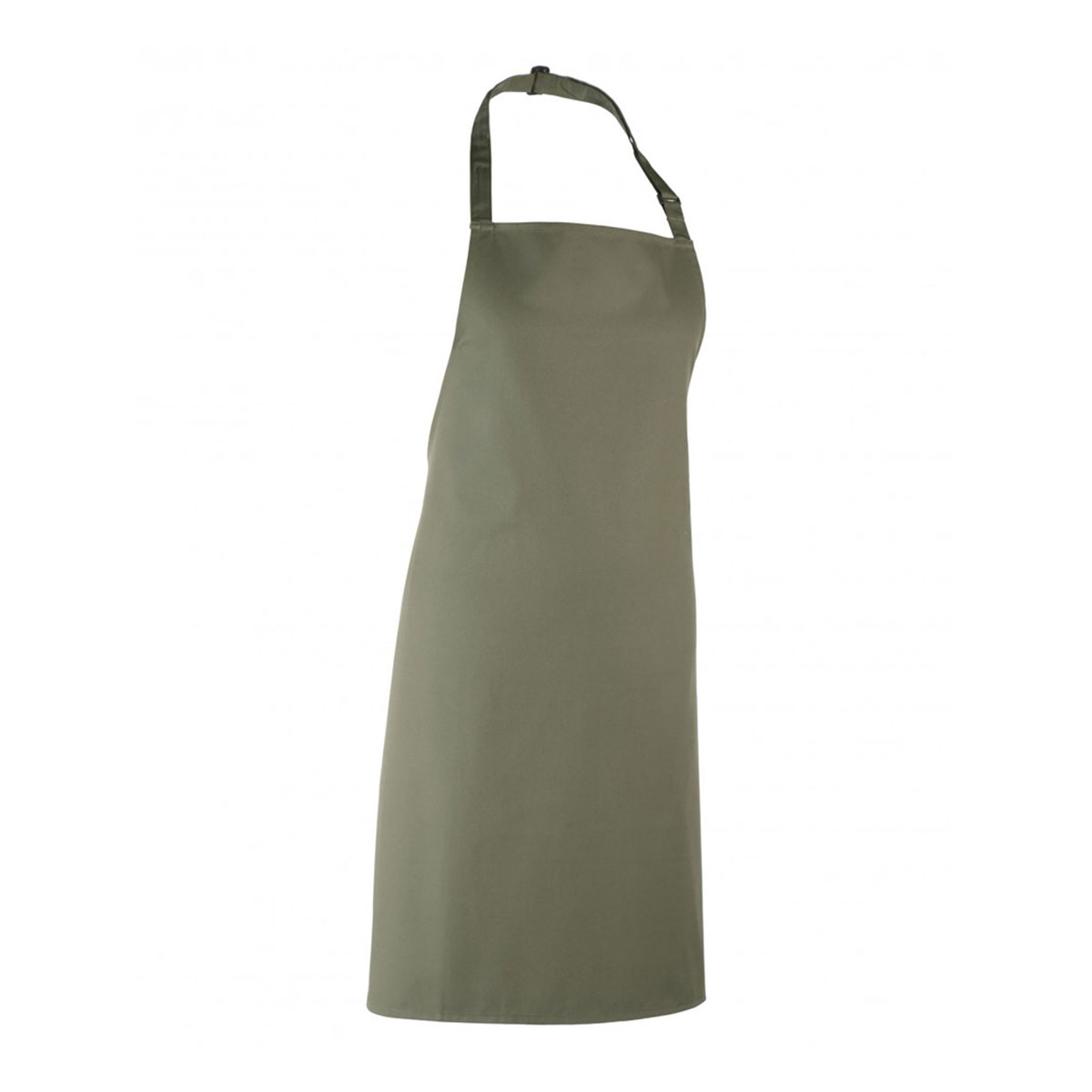 Colours Collection Bib Apron - pr150_sage_ft