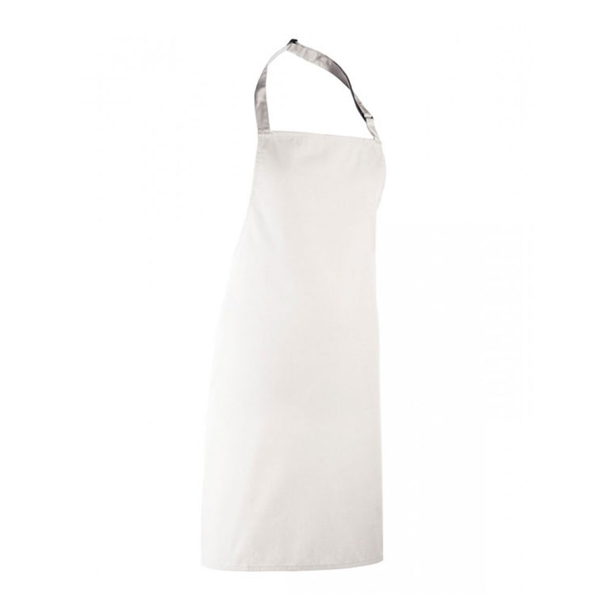 Colours Collection Bib Apron - pr150_white