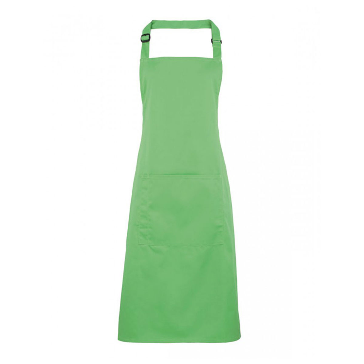 Colours Bib Apron with Pocket - pr154-apple