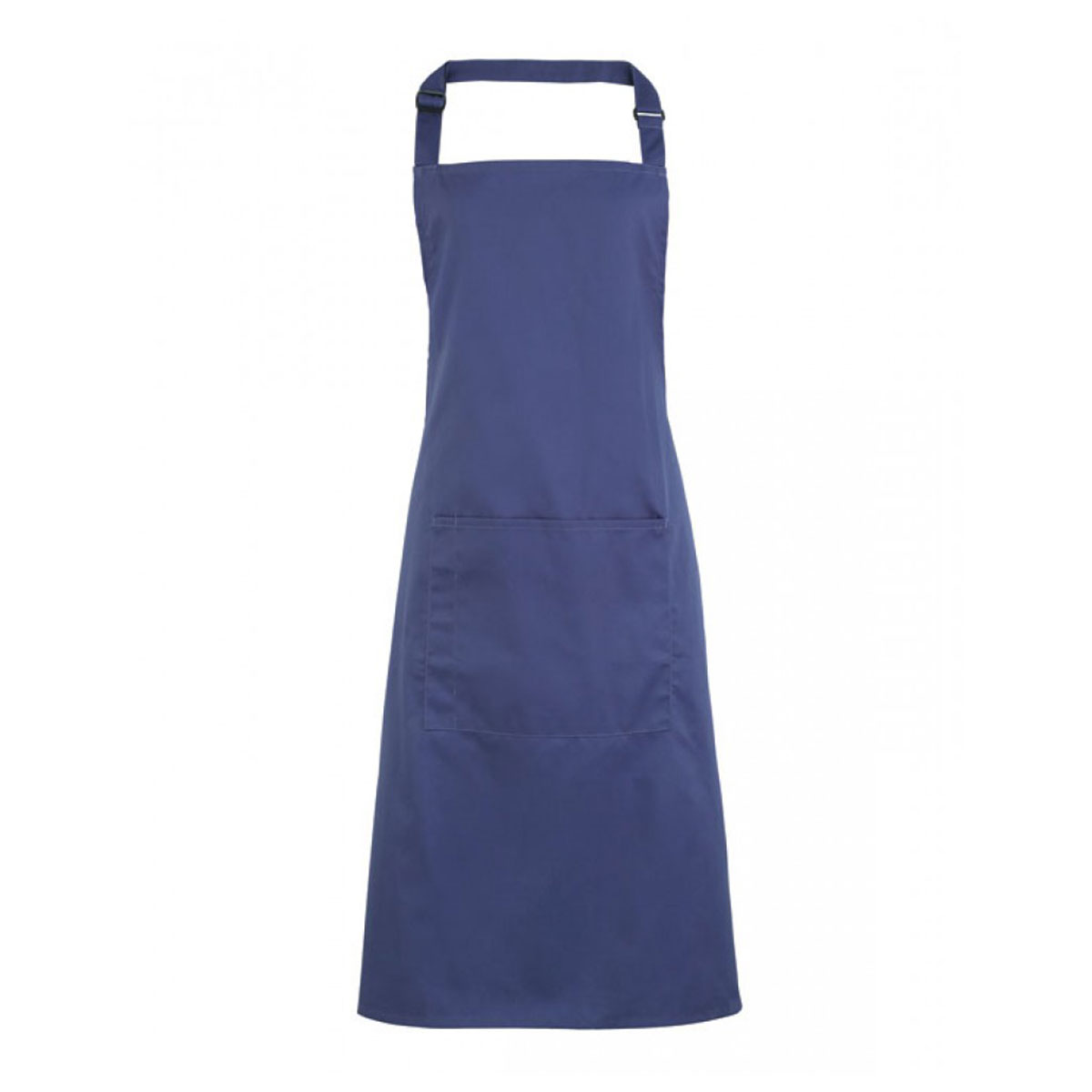 Colours Bib Apron with Pocket - pr154-marine-blue