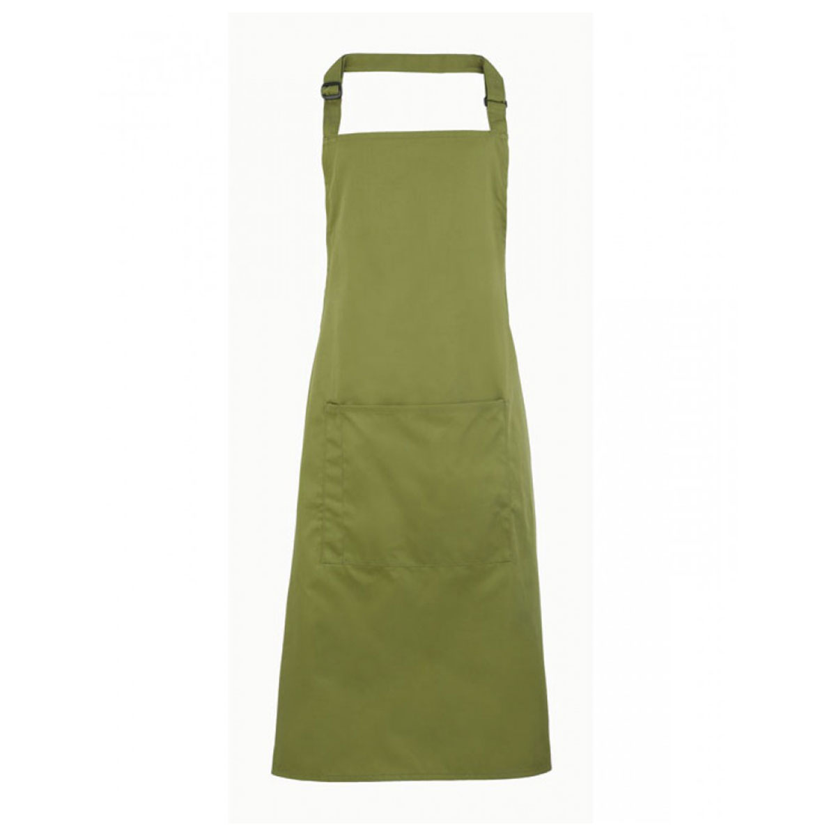Colours Bib Apron with Pocket - pr154-oasis-green