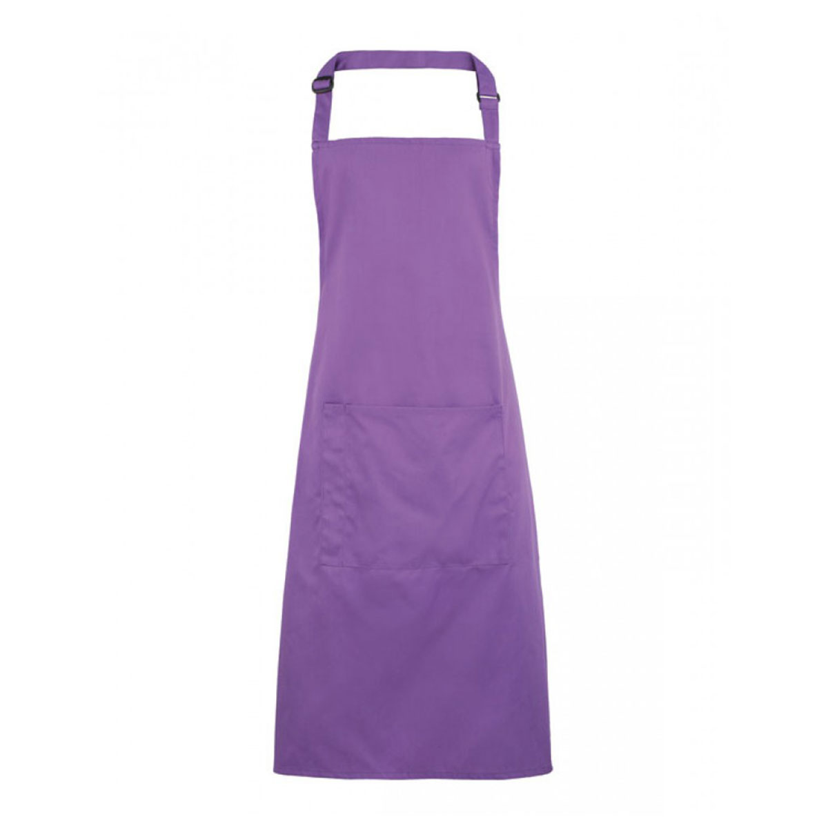Colours Bib Apron with Pocket - pr154-rich-violet