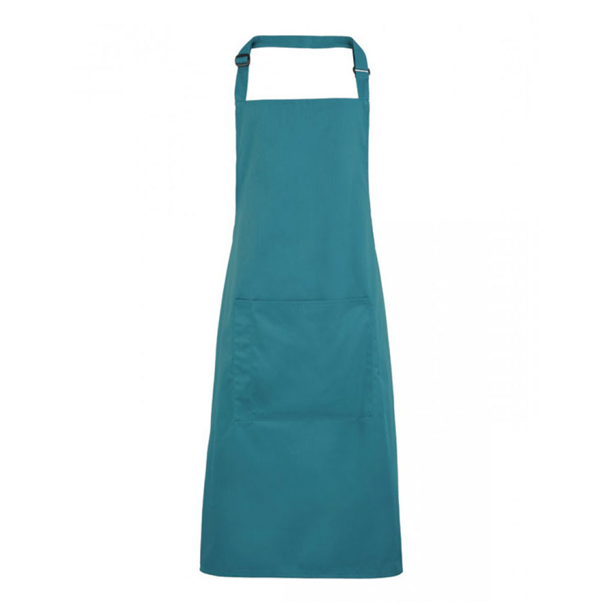 Colours Bib Apron with Pocket - pr154-teal
