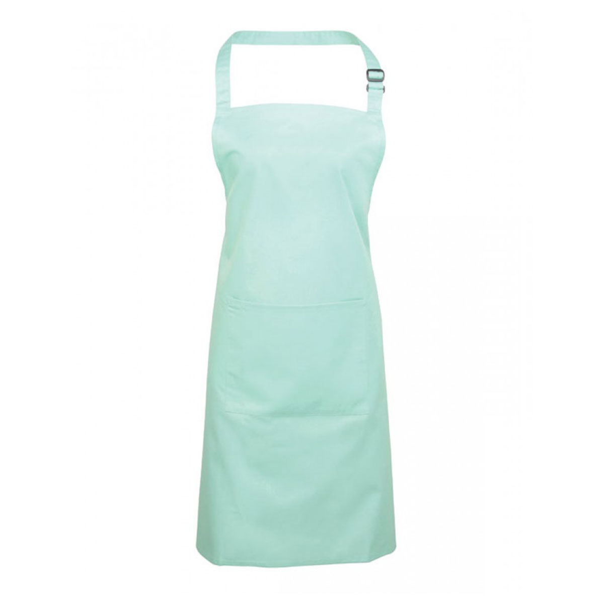 Colours Bib Apron with Pocket - pr154_aqua