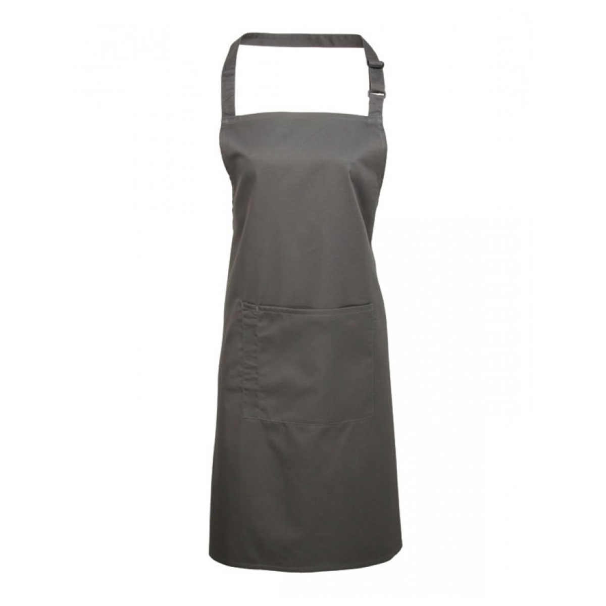 Colours Bib Apron with Pocket - pr154_dark-grey