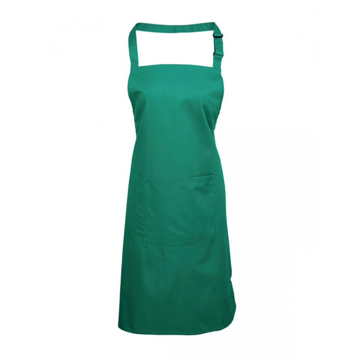 Colours Bib Apron with Pocket - pr154_emerald