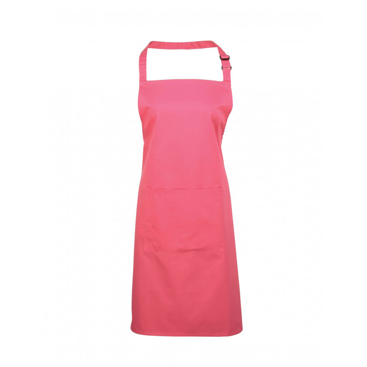 Colours Bib Apron with Pocket - pr154_fuchsia_1