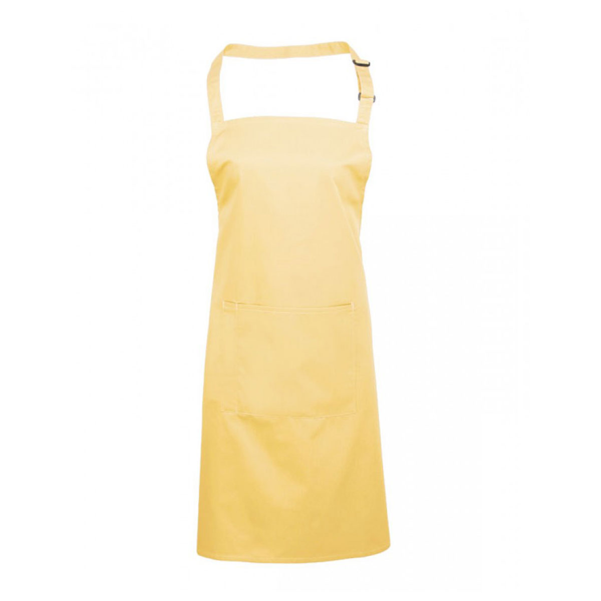 Colours Bib Apron with Pocket - pr154_lemon