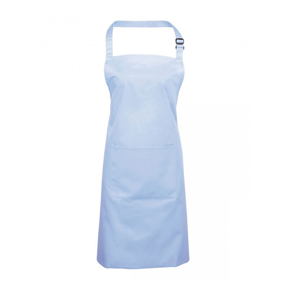 Colours Bib Apron with Pocket - pr154_light-blue