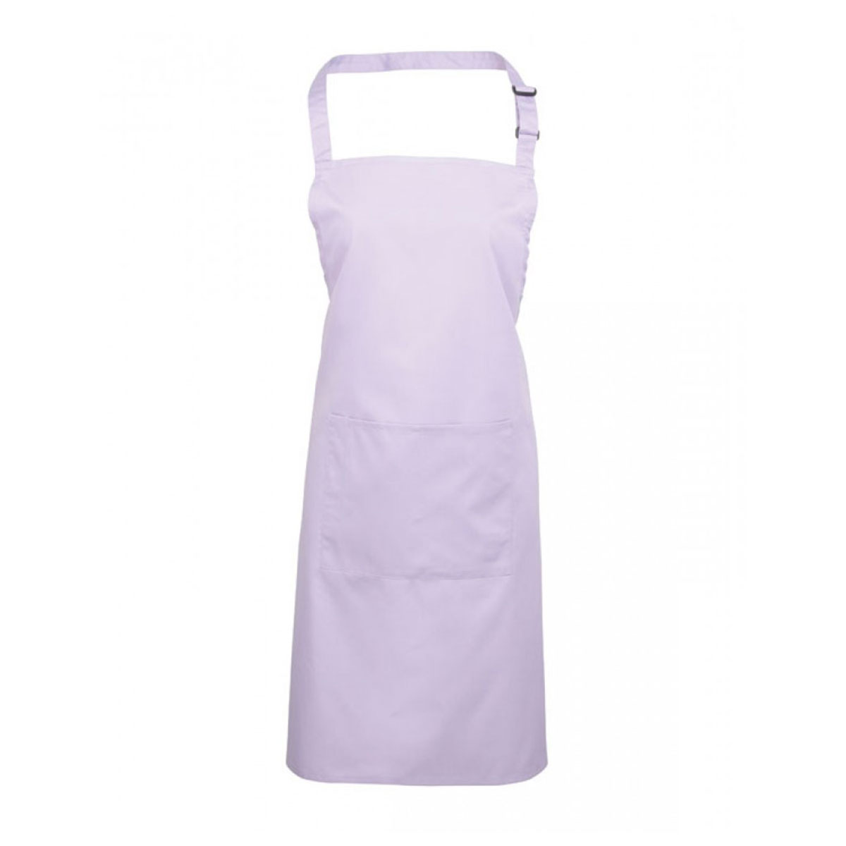 Colours Bib Apron with Pocket - pr154_lilac