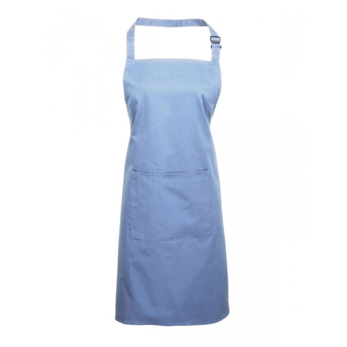 Colours Bib Apron with Pocket - pr154_mid-blue