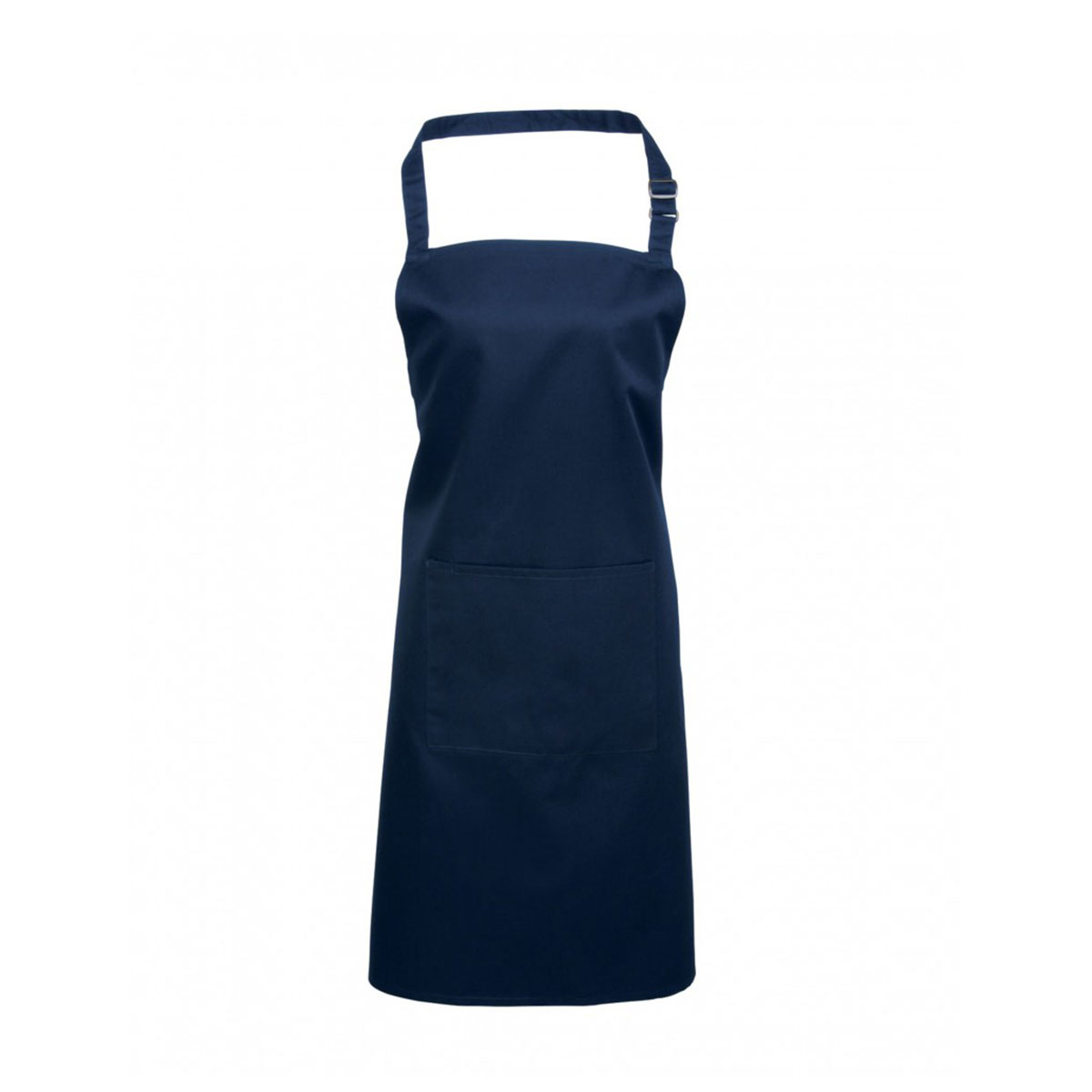 Colours Bib Apron with Pocket - pr154_navy_1