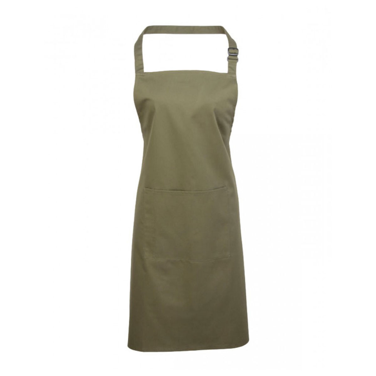 Colours Bib Apron with Pocket - pr154_olive