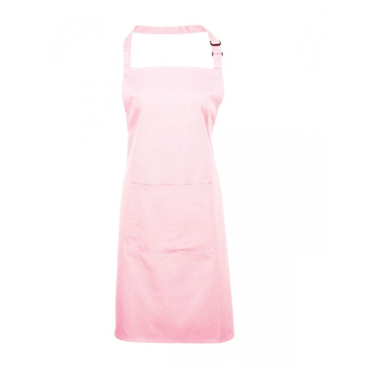 Colours Bib Apron with Pocket - pr154_pink