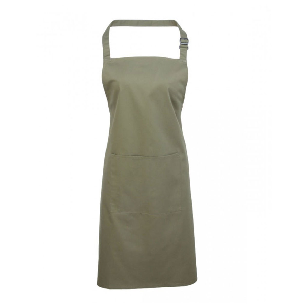 Colours Bib Apron with Pocket - pr154_sage
