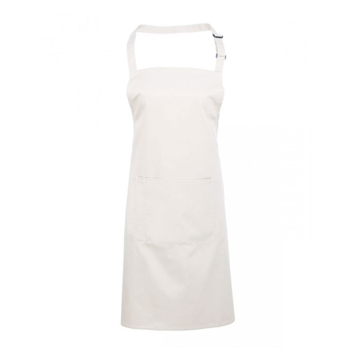 Colours Bib Apron with Pocket - pr154_white
