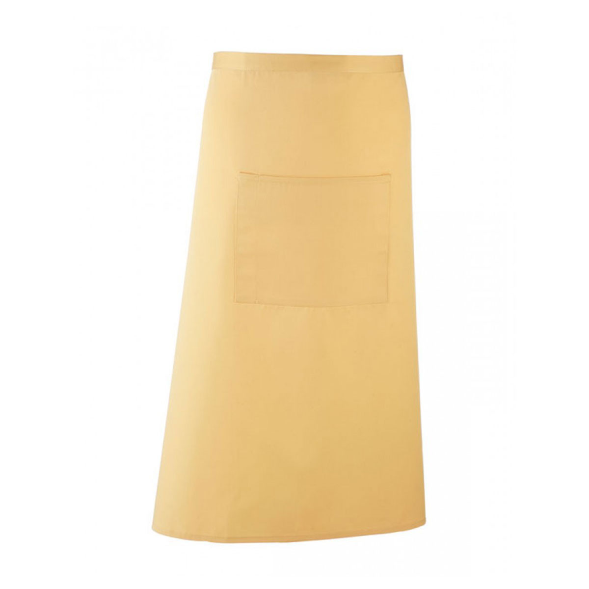 Colours Hospitality Apron - pr158_lemon